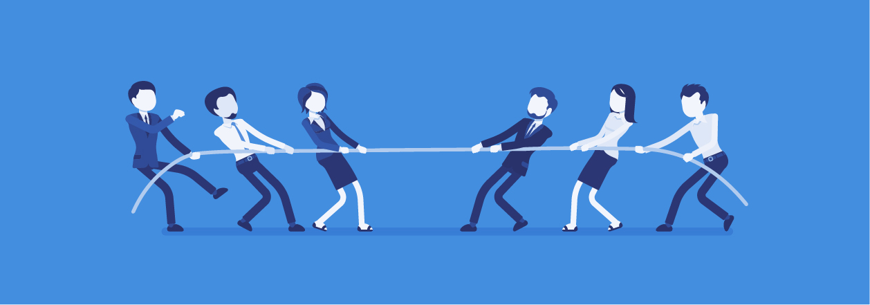Marketing and IT tug of war