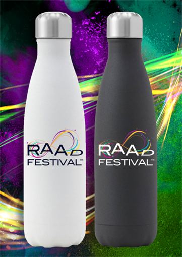 Water Bottles Branded with Logo Created by Fabcom