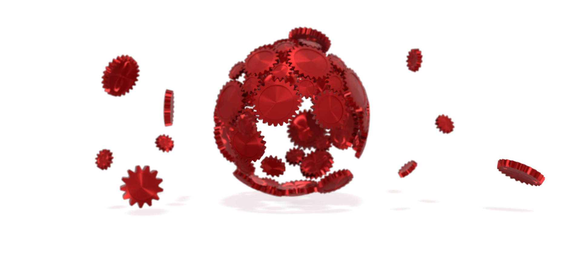 Static red gear sphere loader